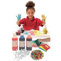 Colouring Messy Play